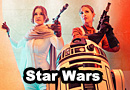 Princess Leia & Evaan Verlaine Star Wars Cosplay