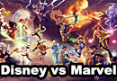 Disney vs. Marvel Ladies Sexy Fan Art