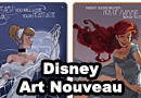 Art Nouveau Disney Fan Art