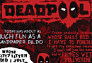 Deadpool Quotable Infographic