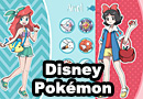 Disney Pokemon Trainers Fan Art