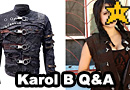 Karol B Post-Apocalyptic Fashion Designer Interview