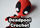 Crocheted Deadpool