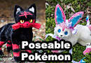Poseable Toy Pokemon