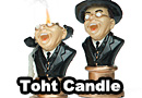 Melting Toht from Indiana Jones Candle