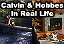 Calvin and Hobbes in Real Life