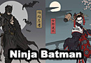 Ninja Batman Fan Art