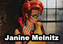 Janine Melnitz from Ghostbusters Cosplay