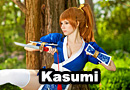 Kasumi from Dead or Alive 5 Cosplay