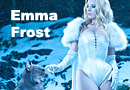 Gorgeous Emma Frost Photoshoot & Video