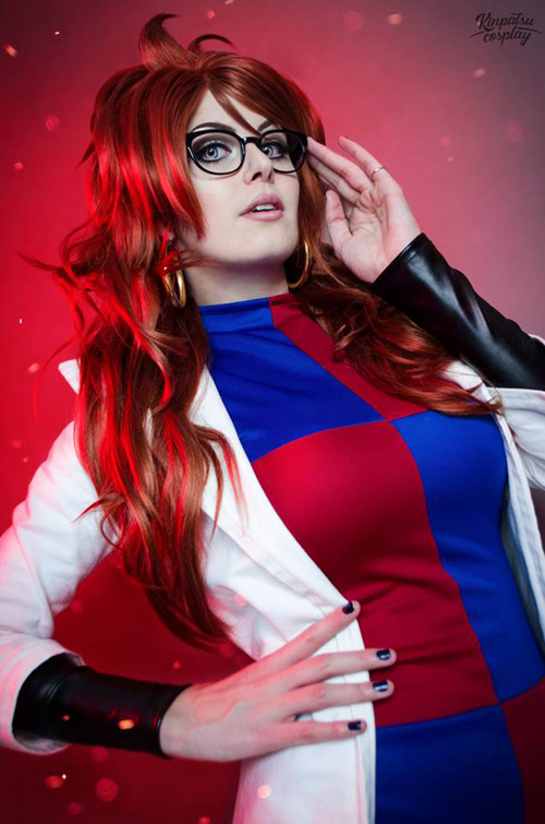 Android 21 from Dragon Ball Z Cosplay