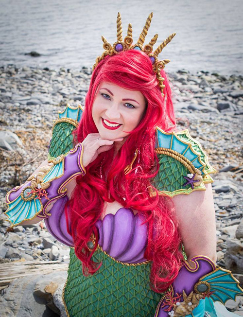 Armored Ariel Cosplay