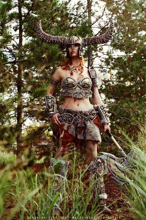 Barbarian from Diablo III