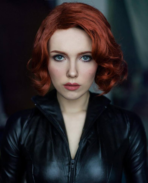 Black Widow Makeup
