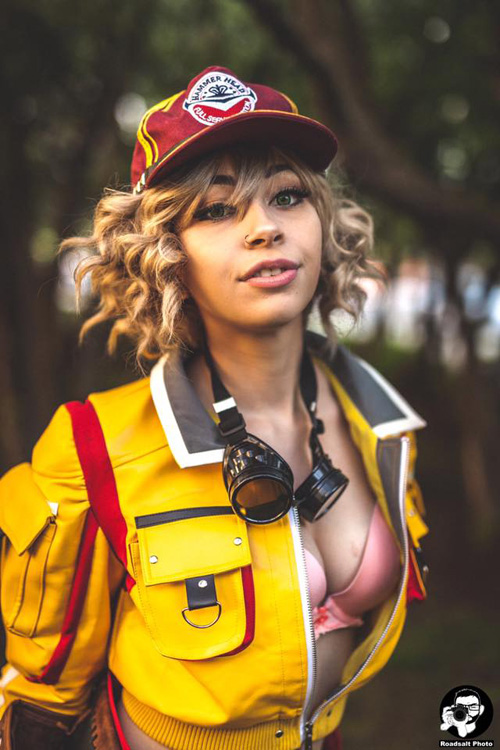 Cindy Aurum from Final Fantasy XV