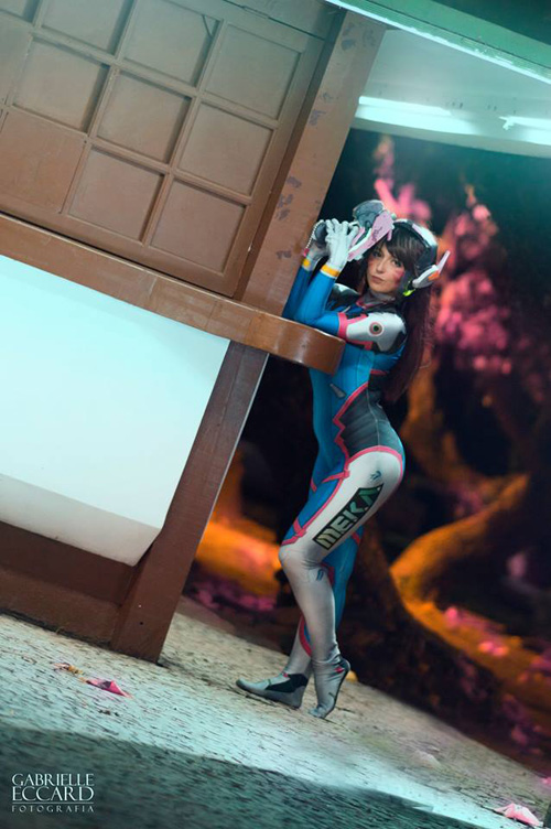 D.Va from Overwatch Cosplay