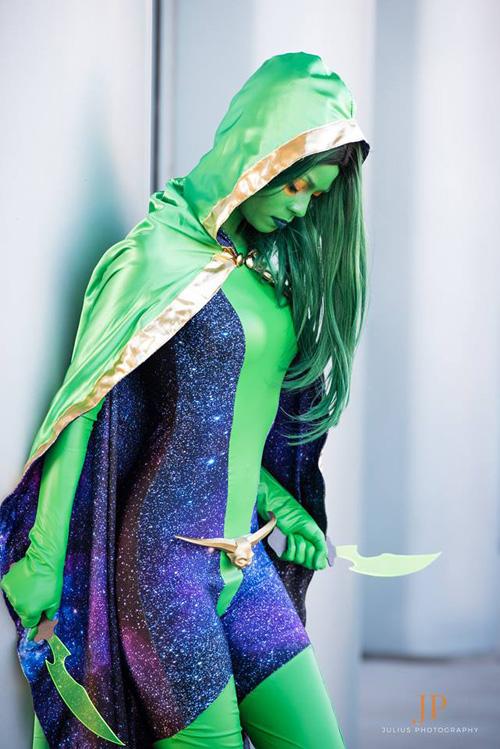 Black Vortex Gamora Cosplay