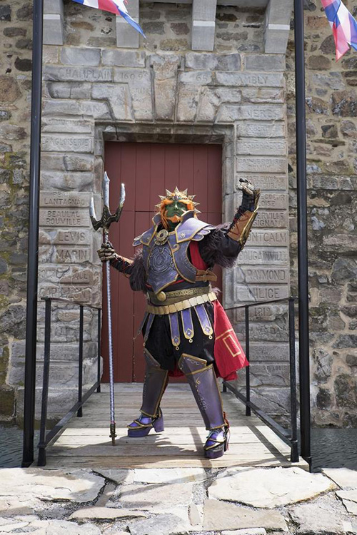 Ganondorf from The Legend of Zelda Crossplay