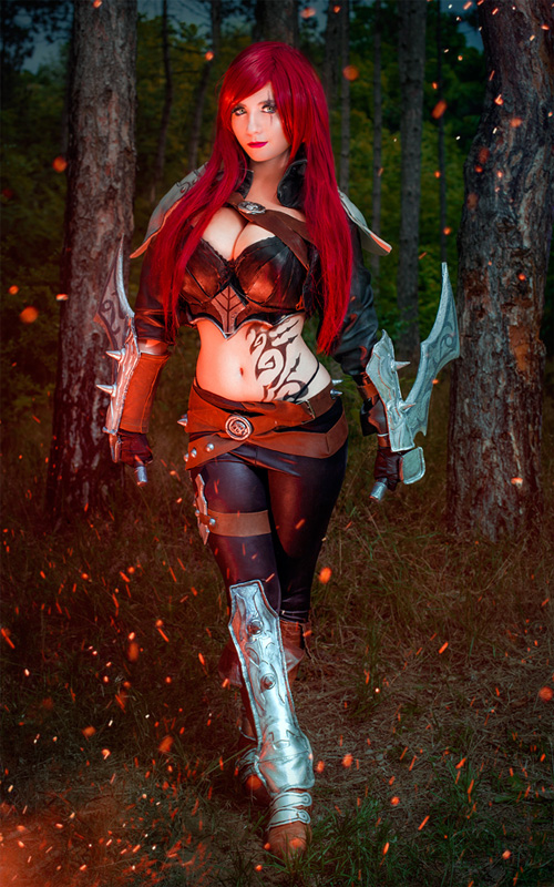 Katarina from League of Legends Cosplay