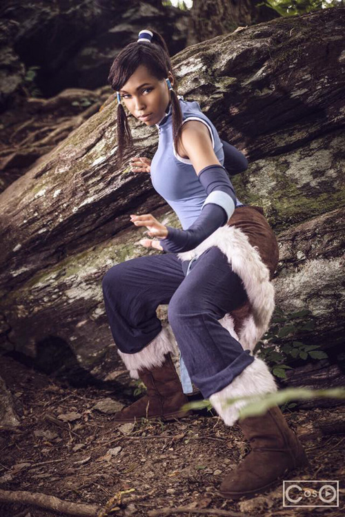 Korra from The Legend of Korra Cosplay