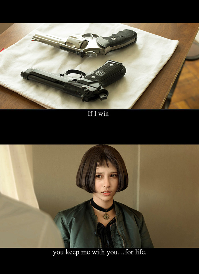 Mathilda from Leon: The Professional Cosplay