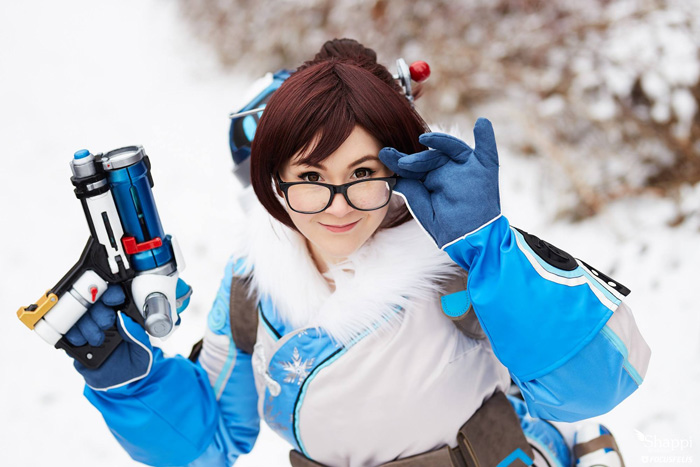 Mei from Overwatch Cosplay