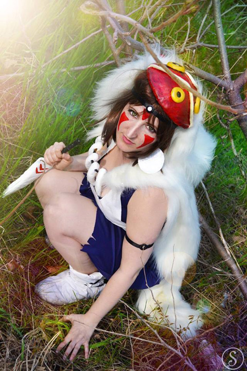 San from Princess Mononoke Cosplay