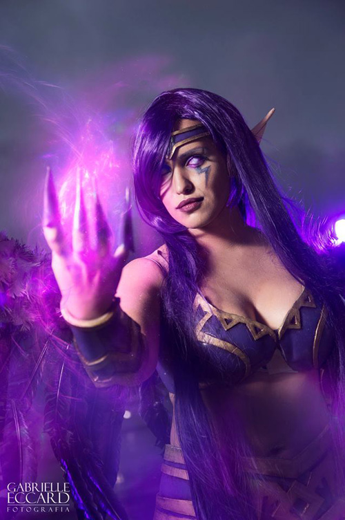 Morgana from League of Legends Cosplay