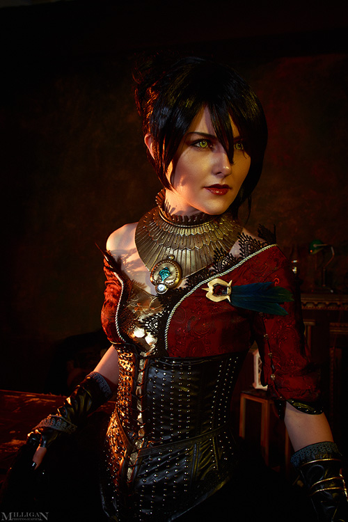 Morrigan from Dragon Age Cosplay