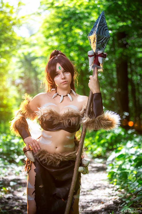 Nidalee from League of Legends Cosplay