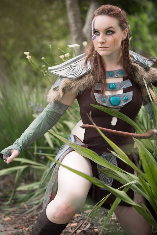 Ancient Nord Armor from Skyrim Cosplay
