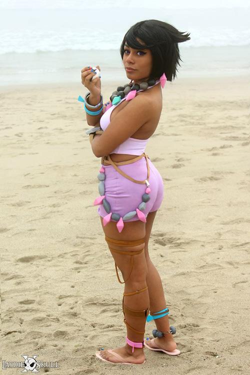 Island Kahuna Olivia from Pokemon Sun and Moon Cosplay