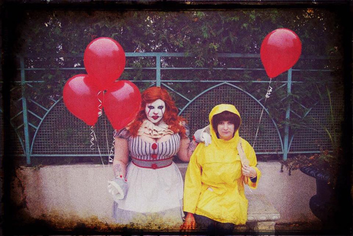 Pennywise & Georgie from IT Cosplay