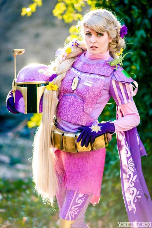 Rapunzel Fett Mashup Cosplay