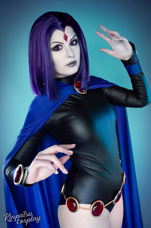 Raven & Starfire from Teen Titans Cosplay