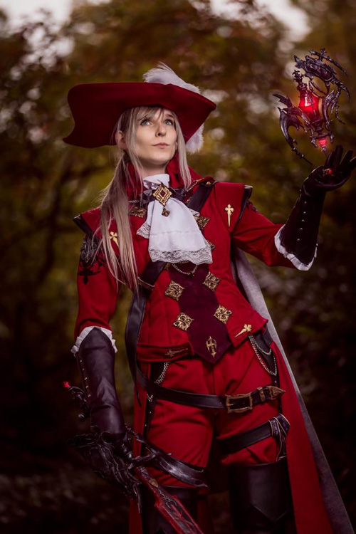 red mage from final fantasy xiv cosplay