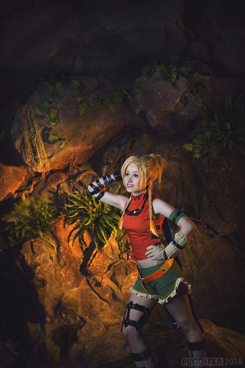 Rikku from Final Fantasy X Cosplay
