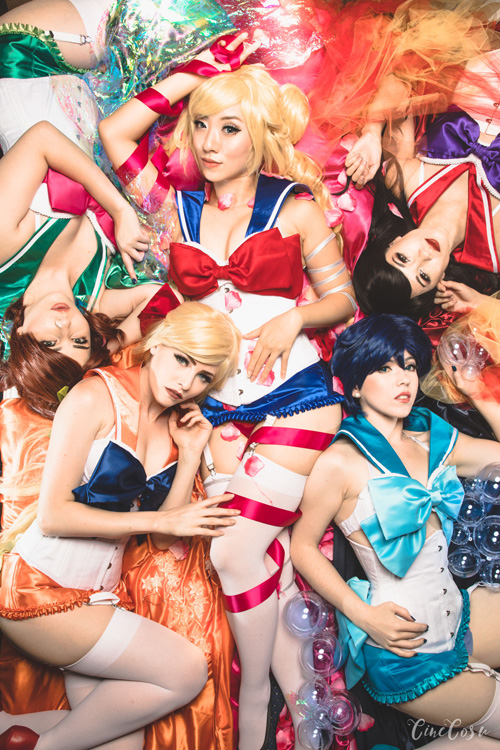 Sailor Moon Boudoir Photoshoot