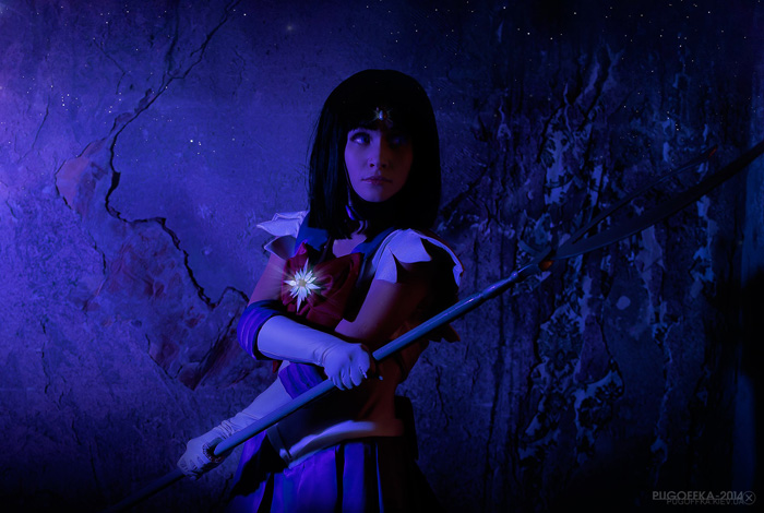 Sailor Saturn from�Sailor Moon Cosplay