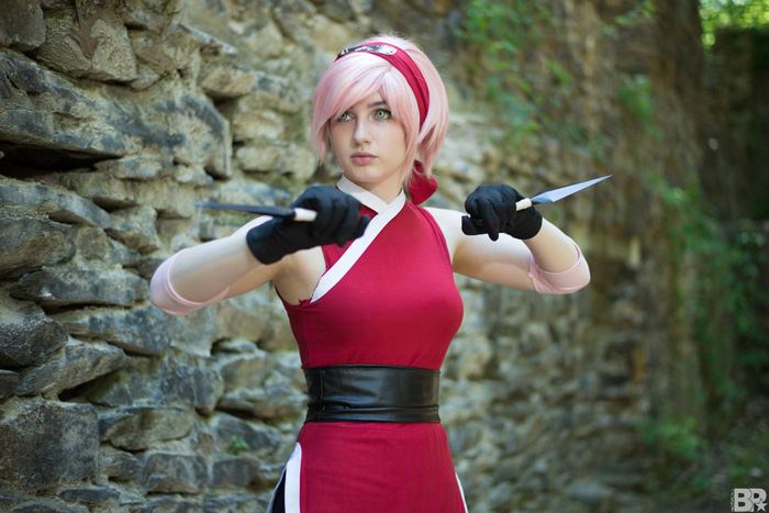 Sakura from Naruto Cosplay