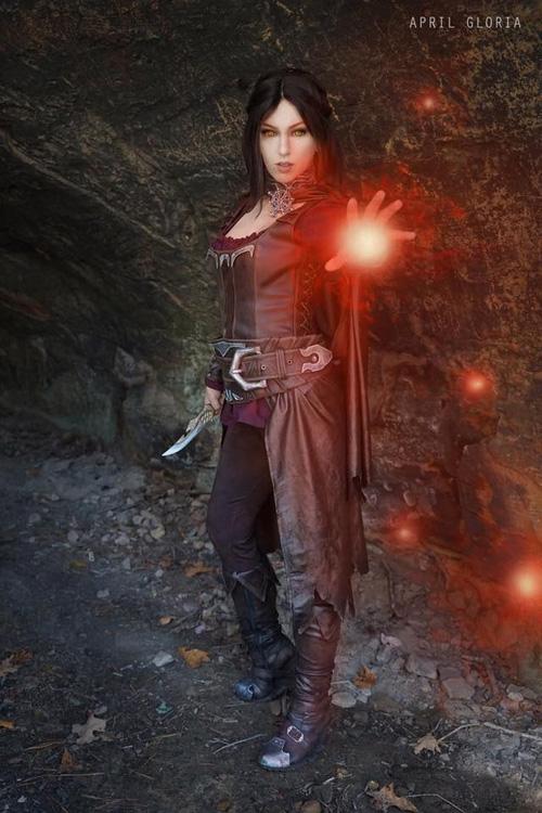 Serana from Skyrim Cosplay