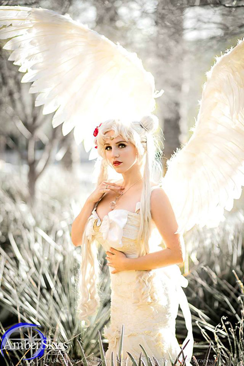 Queen Serenity from Sailor Moon Cosplay