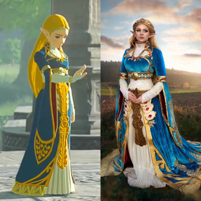Cosplay Side by Side Comparisons
