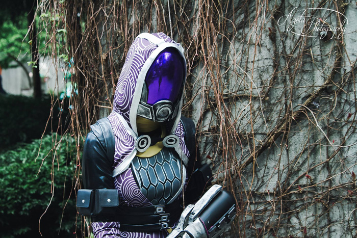 Tali from Mass Effect Cosplay
