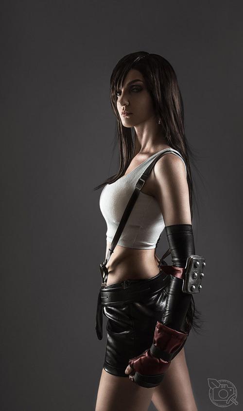 Tifa Lockhart from Final Fantasy VII Cosplay