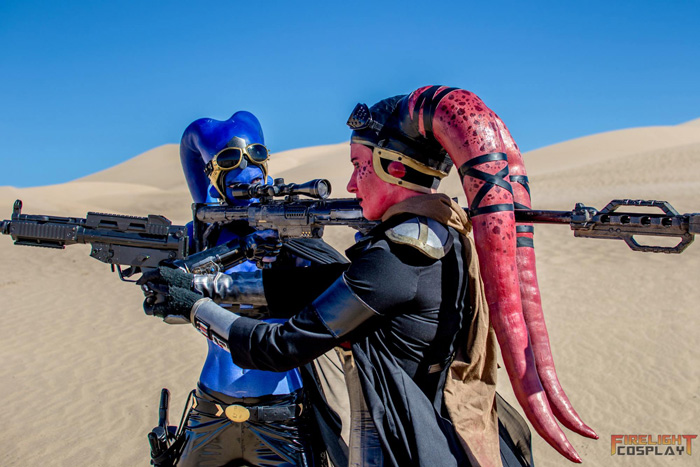 Twilek Bounty Hunters Cosplay