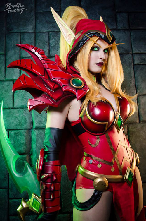 Valeera from Heroes of the Storm Cosplay