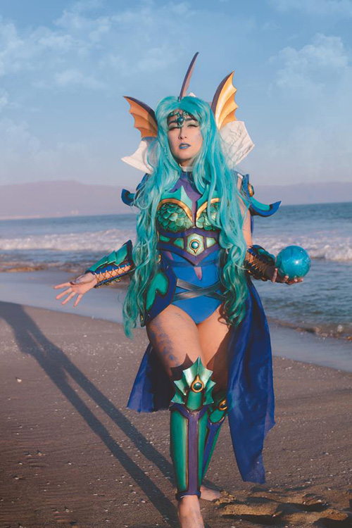 Vaporeon from Pokemon Cosplay