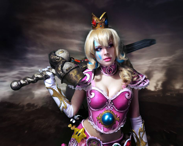 Warrior Peach Cosplay