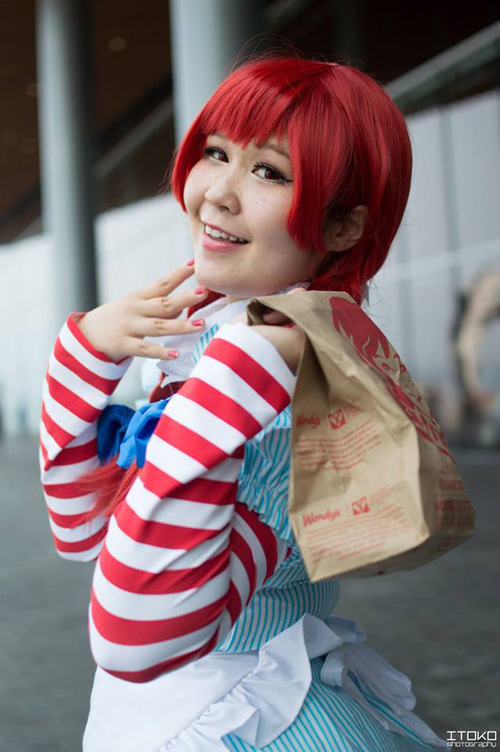 Wendys & Fast Food Mascots Cosplay